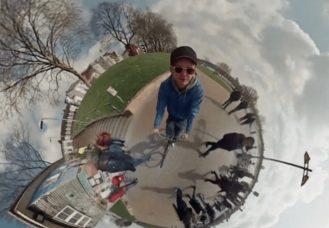 riprese video 360 gradi