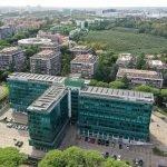 Foto aerea edificio